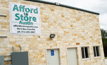Where is Afford to Store Austin Located?